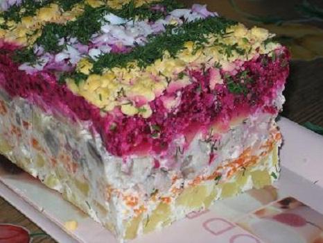 Как сделать салат шуба вкусной